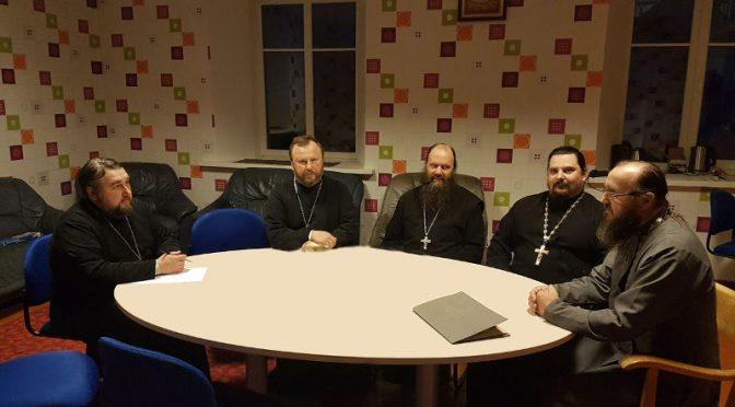 Состоялось собрание духовенства Мадонского благочиния