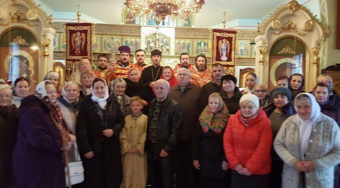 Праздник в храме Архистратига Михаила села Гравёры