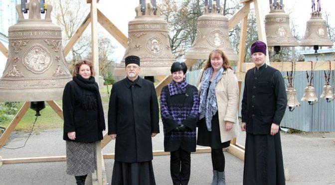 Мэр Даугавпилса и сотрудники Государственной инспекции по защите памятников культуры посетили Борисо-Глебский собор