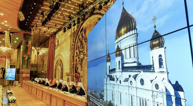 Начал работу Архиерейский Собор РПЦ