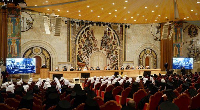 Состоялось заключительное заседание Архиерейского Собора РПЦ