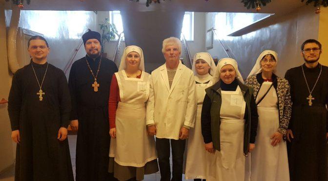 Поздравления с Рождеством в Резекненском пансионате