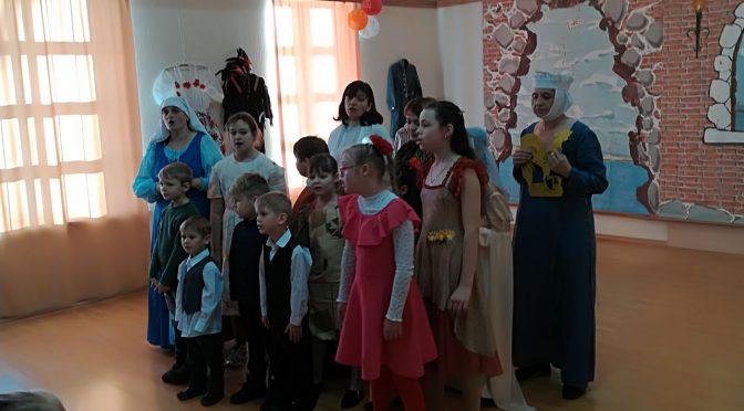 Рождественский утренник воскресной школы Лудзенского Успенского храма