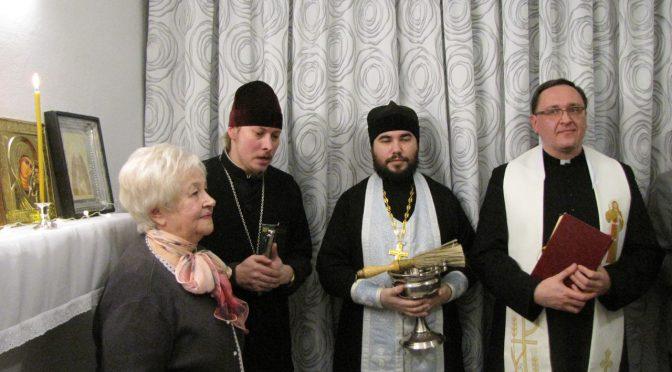 Освящена молитвенная комната общества пенсионеров «Dauer»