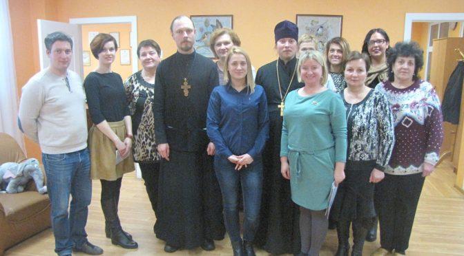 Священники посетили детский дом «Приедите»