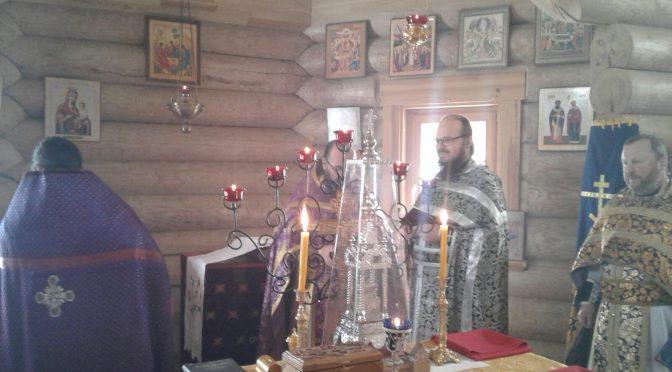 Соборное богослужение в Успенском храме г. Балви