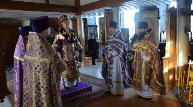 Литургия Преждеосвященных Даров в Мадоне