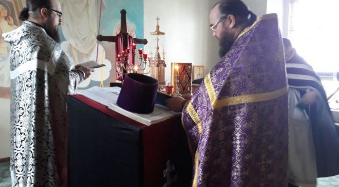Соборное богослужение в Покровском храме пос. Виляка