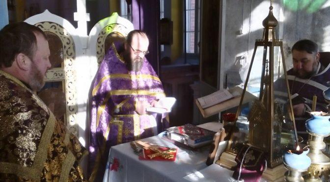 Соборное богослужение в Вецлайцене