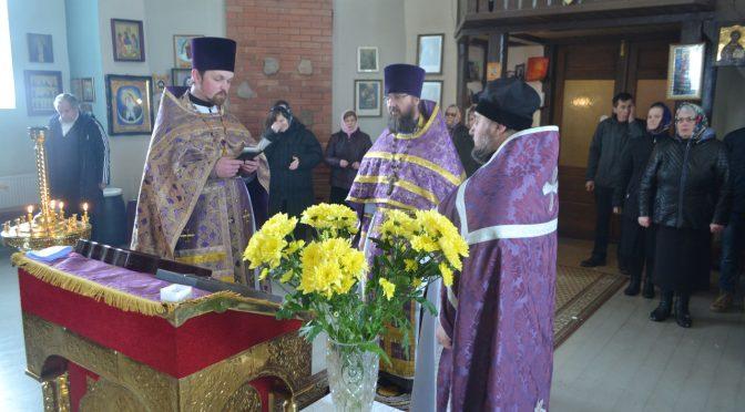 Храмовый праздник в Марциене
