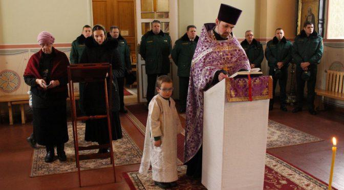 Молебен по случаю 10-летия Авиации погранохраны в Лудзе