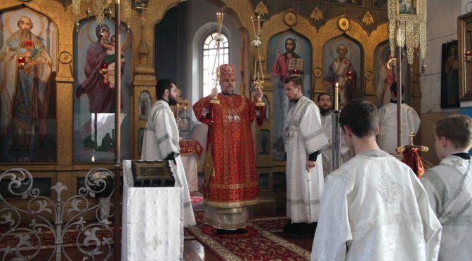 Богослужение в неделю Антипасхи в Старой Слободе