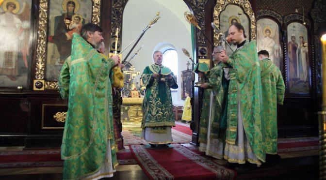 Литургия в праздник Входа Господня в Иерусалим