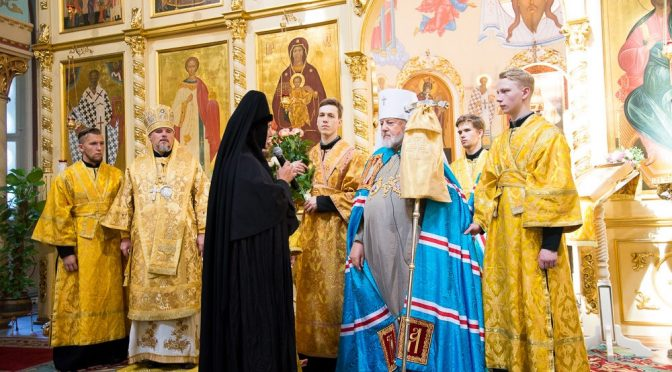 Литургия в день 29-летия архиерейской хиротонии Митрополита Александра