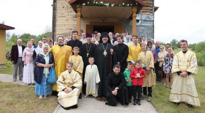 110-летие со дня освящения Петро-Павловского храма в Данишевке