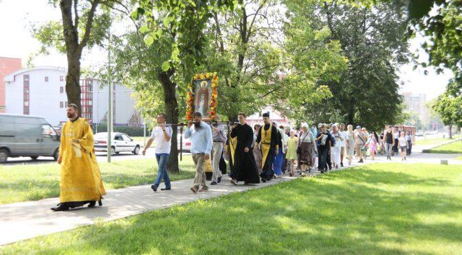 Крестный ход в Малиновский Ильинский храм
