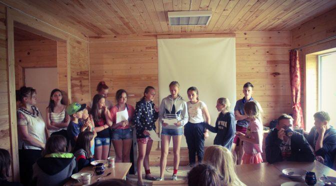 День знаний в лагере Старая Слобода