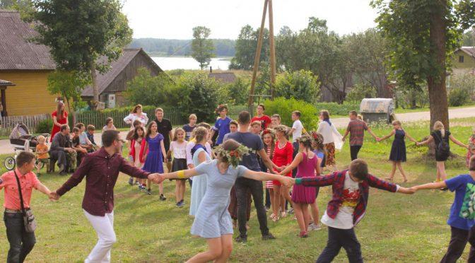 День русской культуры в лагере Старая Слобода