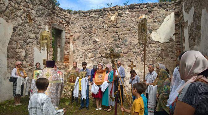 Престольный праздник Преображенского храма посёлка Старая Слобода