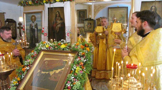 Храмовый праздник в Малиновской Ильинской церкви