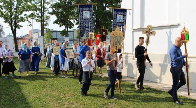 Праздник Успения Пресвятой Богородицы в Лудзе