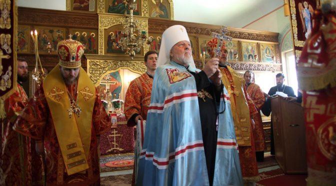Храмовый праздник в Гравёрах