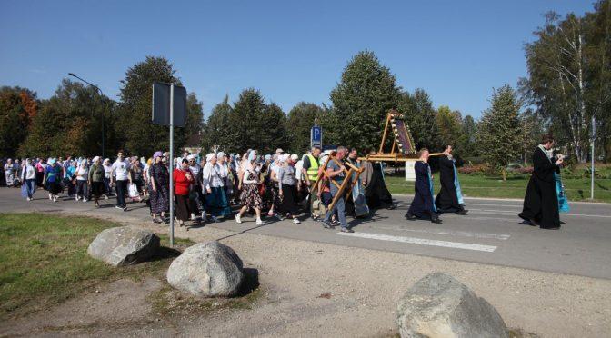 Состоялся крестный ход к источнику в Ополи