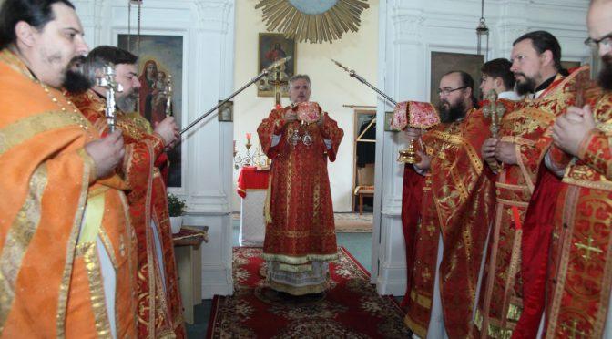 Литургия в Мадоне и 15-й Крестный ход на родину сщмч. Иоанна Рижского