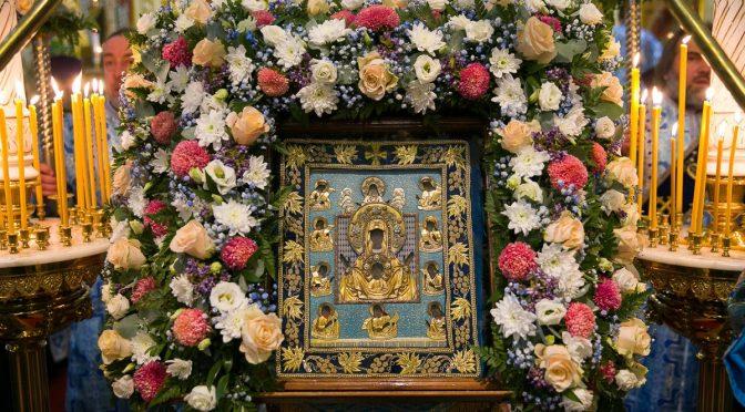 В Ригу прибыла Курская-Коренная икона Пресвятой Богородицы «Знамение»