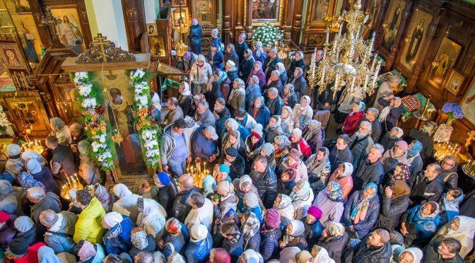 В Рижском Свято-Троице-Сергиевом женском монастыре торжественно встретили Курско-Коренную икону Пресвятой Богородицы