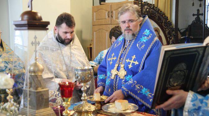 Литургия и хиротония во пресвитеры в Борисо-Глебском соборе