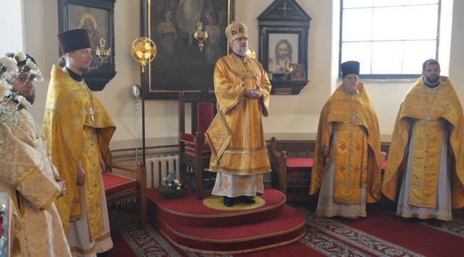 Литургия в неделю о мытаре и фарисее