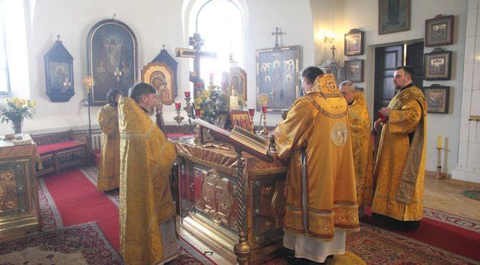 Малый престольный праздник в Борисо-Глебском соборе