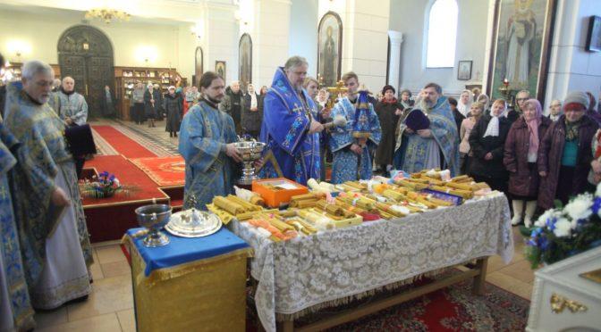 Литургия в праздник Сретения Господня
