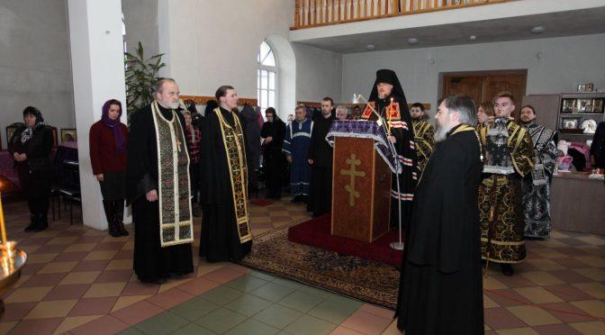 Чтение канона Андрея Критского в Петро-Павловском храме г. Даугавпилс