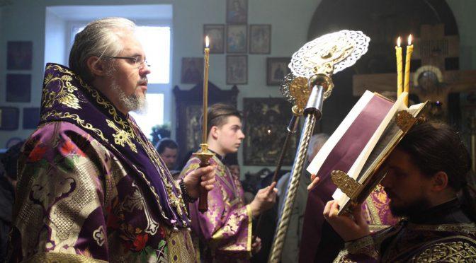 Всенощное бдение и монашеский постриг в Илуксте