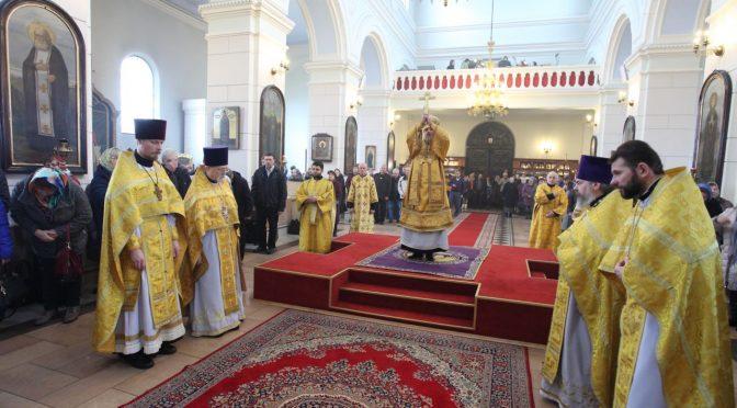 Богослужение в неделю Торжества Православия