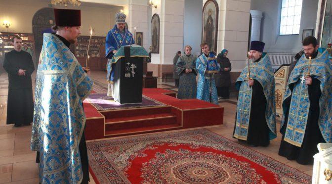 Утреня субботы Акафиста (Похвалы Богородицы)