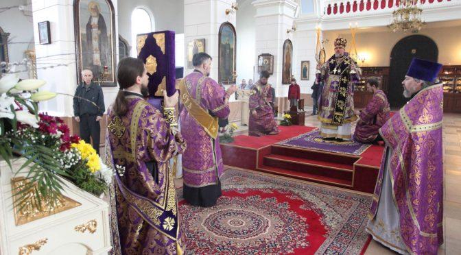 Литургия Преждеосвященеых Даров в Великий Вторник