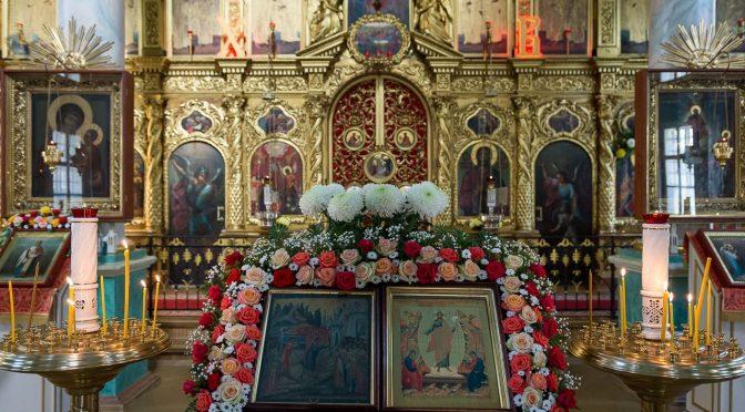 Литургия в Рижском Благовещенском храме