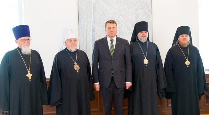 Визит президенту Латвийской Республики Раймонду Вейонису