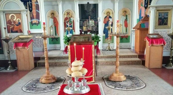 Престольный праздник в Крустпилсском Никольском приходе