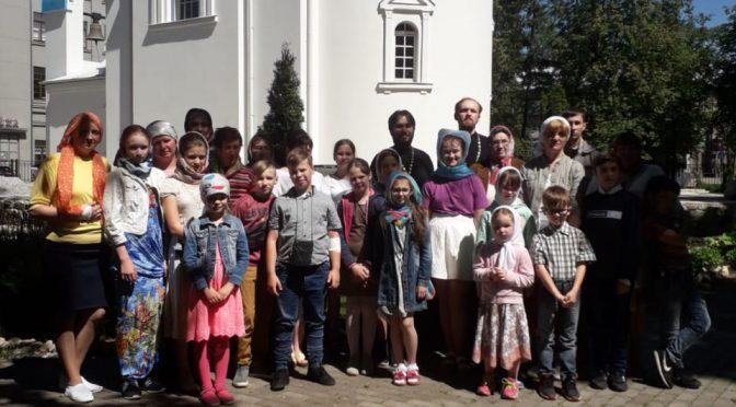 Лудзенская воскресная школа посетила Даугавпилс