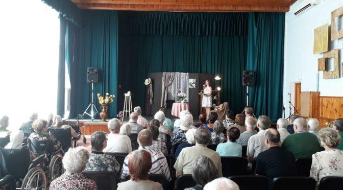 Воспитанники Епархиальной воскресной школы посетили Даугавпилсский пансионат