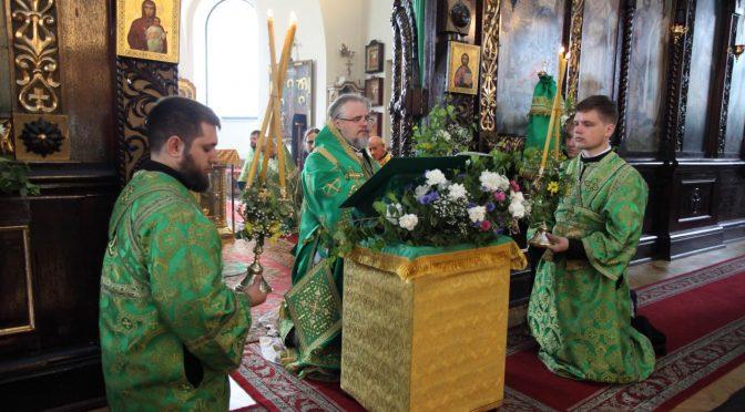Богослужение в День Святой Троицы
