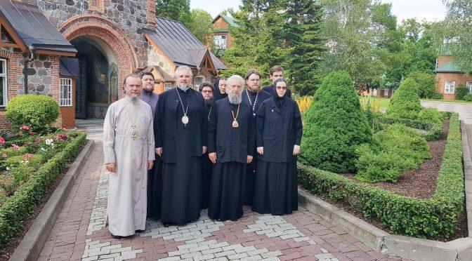 Завершились торжества в Нарвской епархии