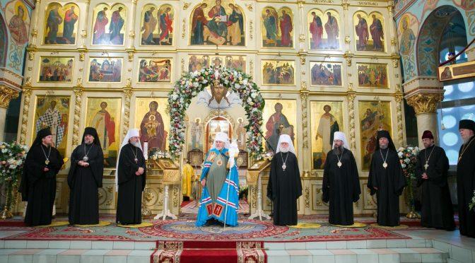 Празднование 30-летия святительского служения Митрополита Рижского и всея Латвии Александра
