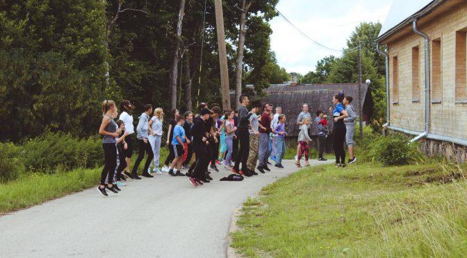 Второй день слёта православной молодёжи в Старой Слободе