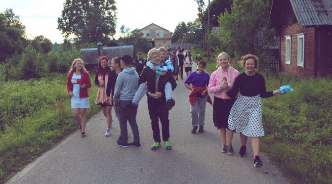 Шестой день слёта православной молодежи в Старой Слободе