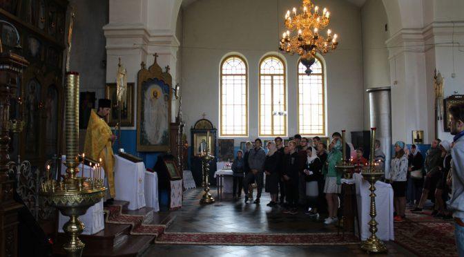 Седьмой день слёта православной молодежи в Старой Слободе